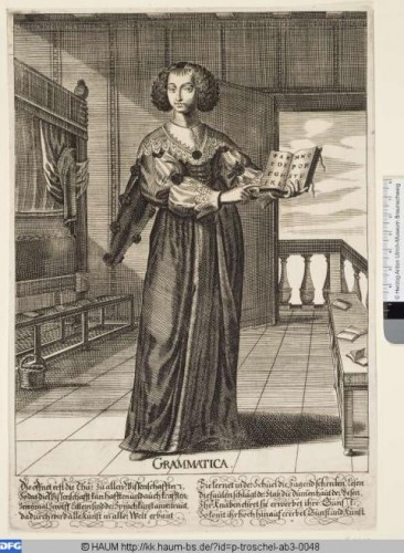 Peter Troschel, Grammatica, 1640-1667