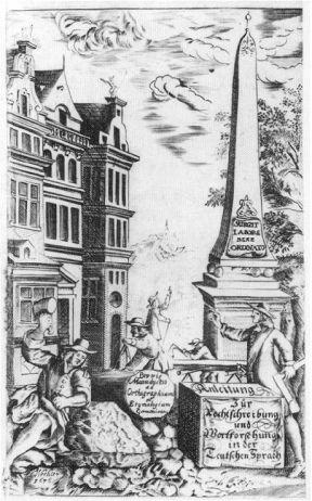 Justus Georg Schottelius, Manuductio, Braunschweig 1767